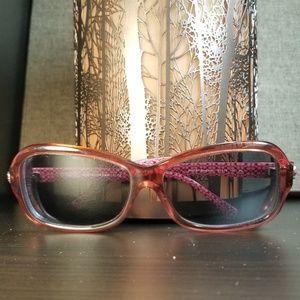 Coach Clara Dark Burgundy Pink Sunglass Frames